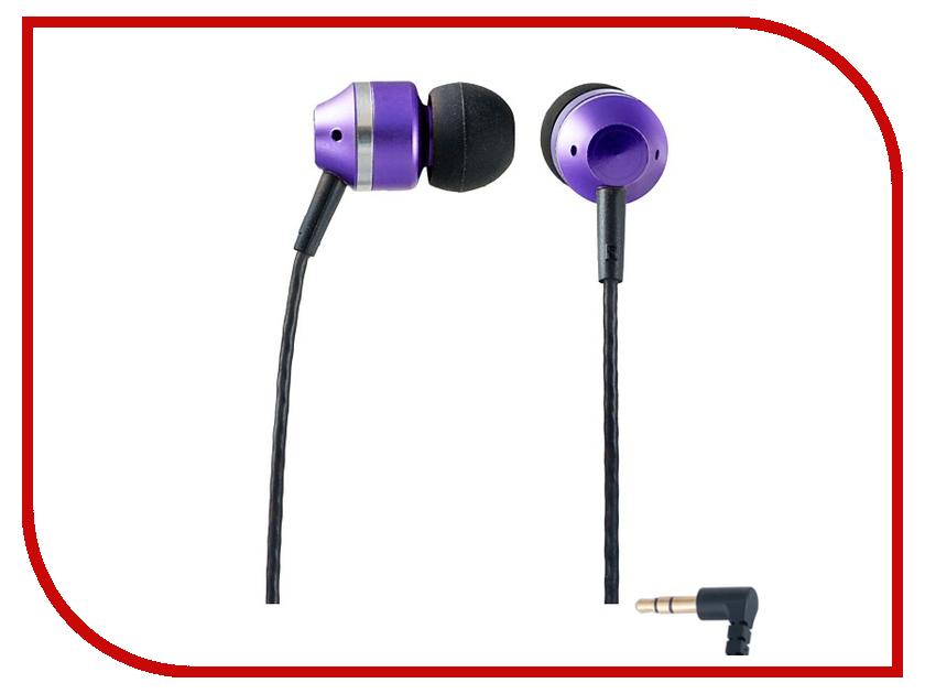 Наушники Perfeo Tangle Violet PF-TNG-BLK/VLT