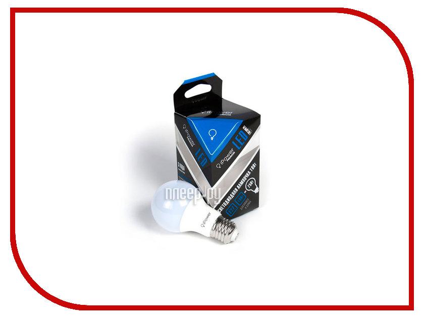 Лампочка iPower Premium 10W 4000K 810LM E27IPPB10W4000KE27 1001965 лампочка ipower 9w 2700k 720lm e27 iphb9w2700ke27 1001952