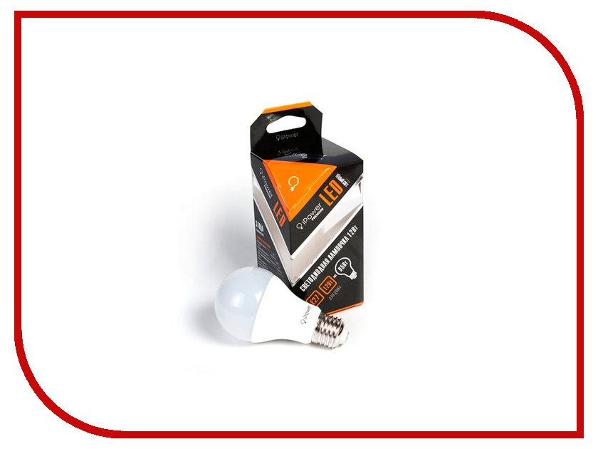 Лампочка iPower Premium 12W 2700K 1055LM E27 IPPB12W2700KE27 1001966