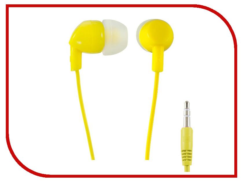 Наушники Perfeo Ipod Yellow PF-IPD-YLW