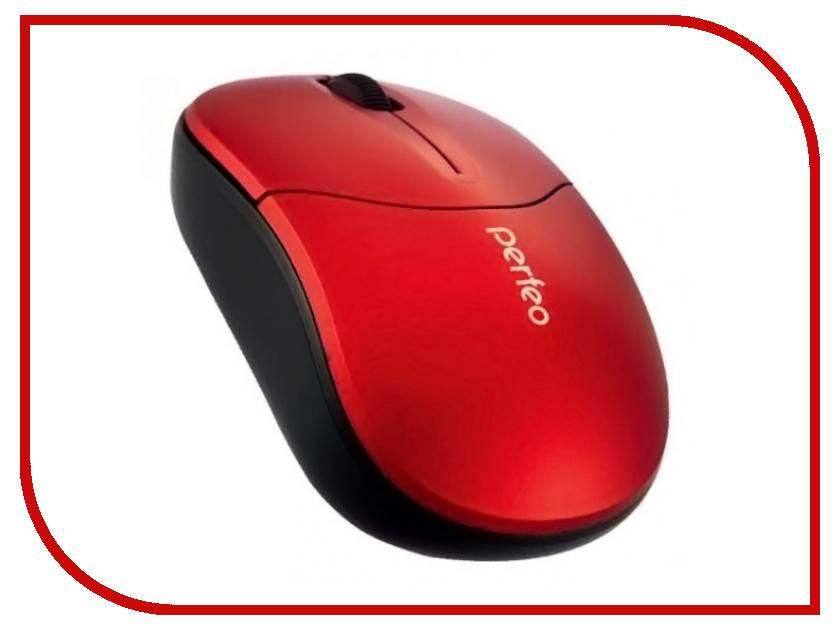 Мышь беспроводная Perfeo Bolid USB Red PF-533-WOP-R