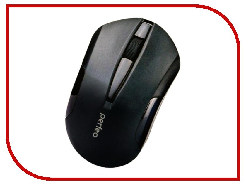Мышь беспроводная Perfeo Sonata USB Black PF-153-WOP-B/B