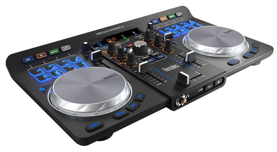 Фото - Dj контроллер Hercules Universal DJ 4780773 hercules расческа силиконовая рабочая женская 17 8 см