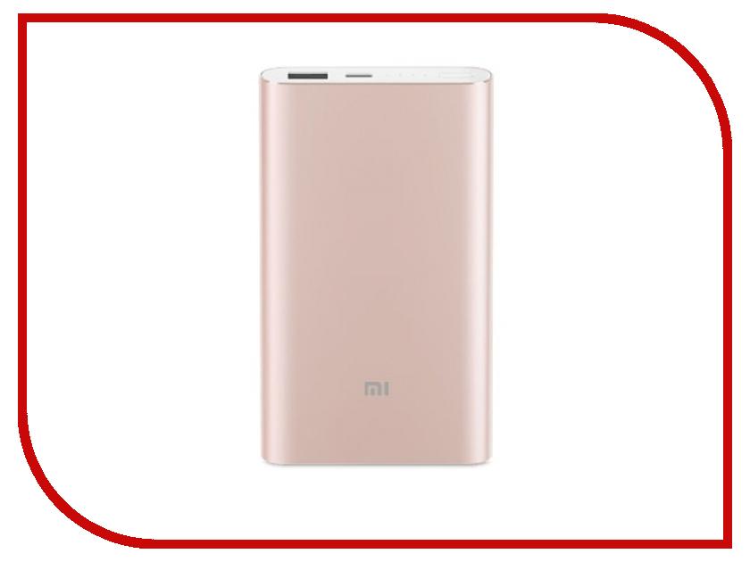Аккумулятор Xiaomi Mi Pro PLM03ZM 10000mAh Type-C Rose-Gold [bundle] original xiaomi mi pro 10000mah type c usb power bank gold