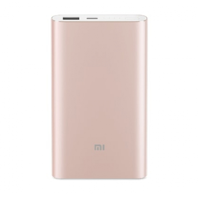 Внешний аккумулятор Xiaomi Mi Power Bank Pro 10000mAh Type-C Rose-Gold PLM03ZM