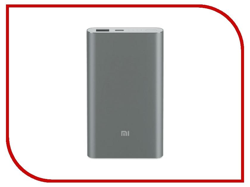 Фото - Аккумулятор Xiaomi Mi Pro PLM03ZM 10000mAh Type-C Grey аккумулятор ainy e82 001k 10000mah с функцией беспроводной зарядки grey
