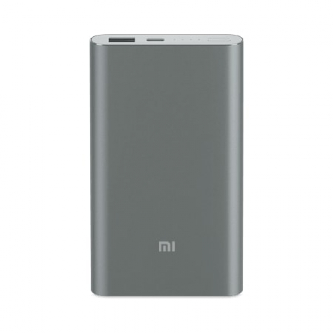 Внешний аккумулятор Xiaomi Mi Power Bank Pro 10000mAh Type-C Grey PLM03ZM