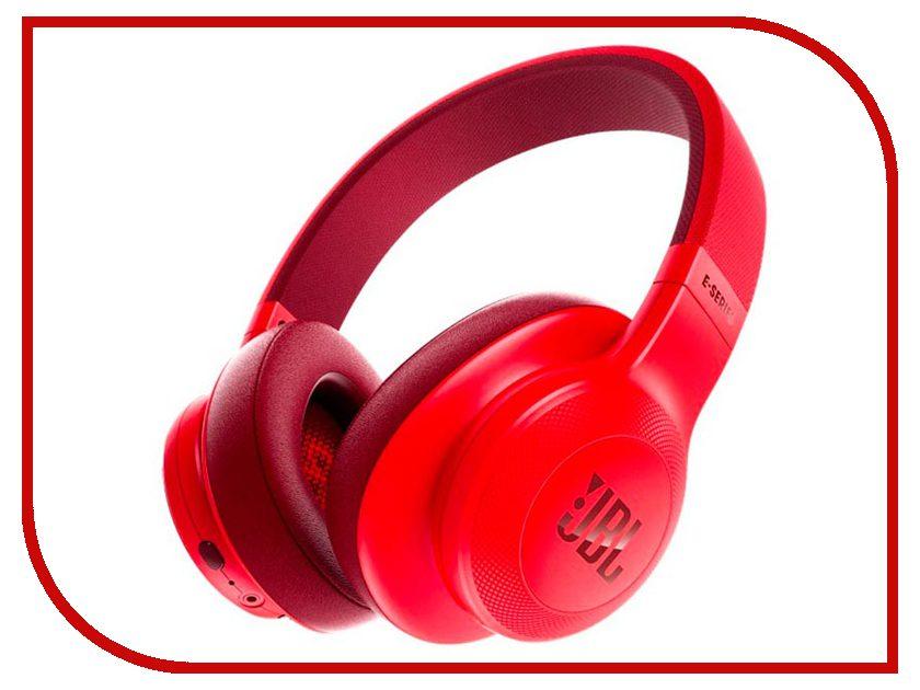 JBL E55BT Red JBLE55BTRED наушники bluetooth jbl e55bt blue jble55btblu