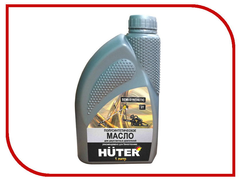Масло Huter 2T 1L для 2-х тактных двигателей