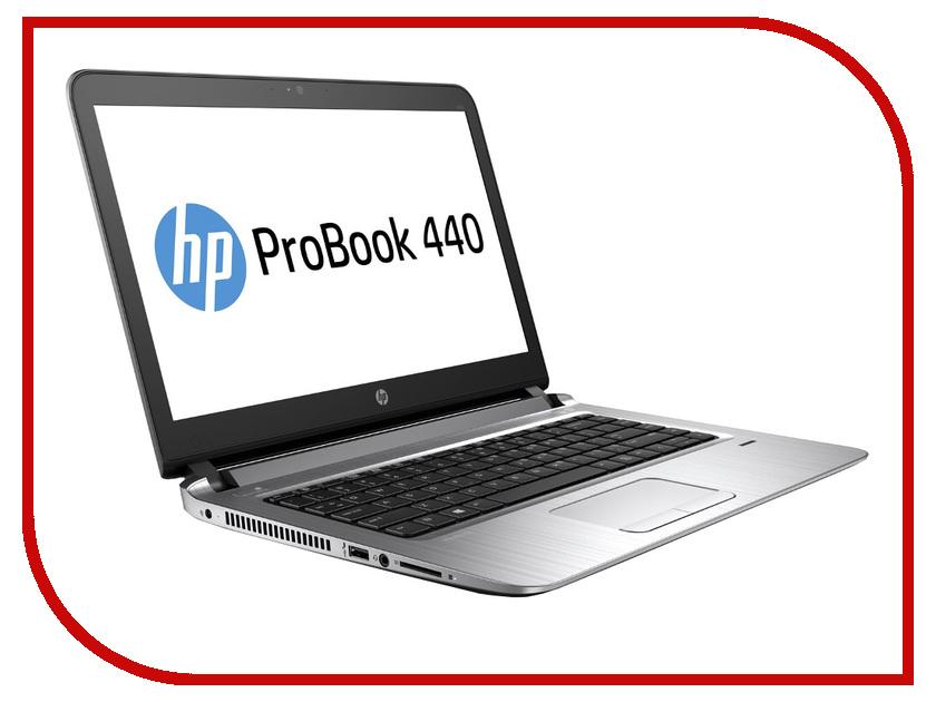 Ноутбук HP ProBook 440 G3 W4N97EA (Intel Core i7-6500U 2.5 GHz/8192Mb/256Gb SSD/No ODD/Intel HD Graphics/Wi-Fi/Bluetooth/Cam/14.0/1920x1080/Windows 7 64-bit)<br>