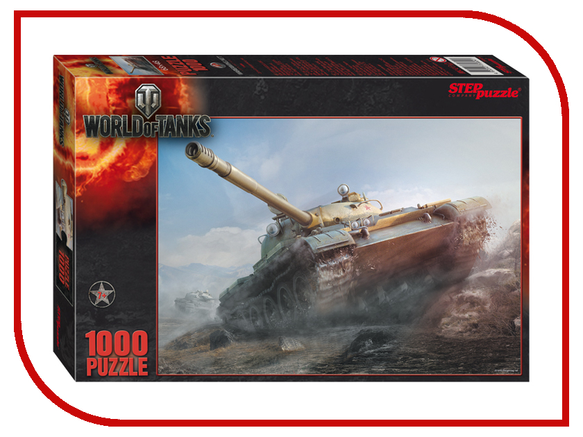 Игрушка Step Puzzle World of Tanks 79604<br>