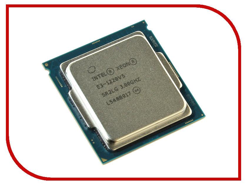 Процессор Intel Xeon E3-1220V5 Skylake (3000MHz/LGA1151/L3 8192Kb)