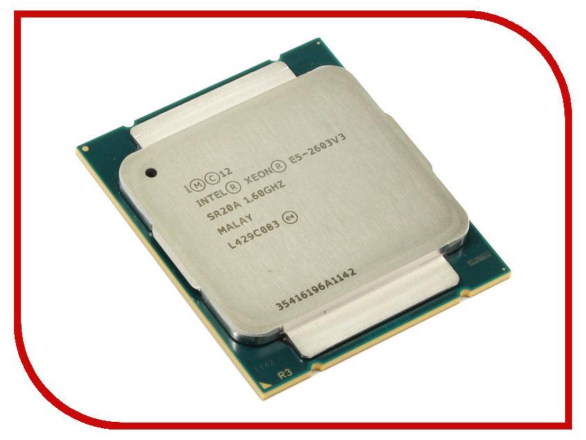 Процессор Intel Xeon E5-2603V3 Haswell-EP (1600MHz/LGA2011-3/L3 15360Kb)