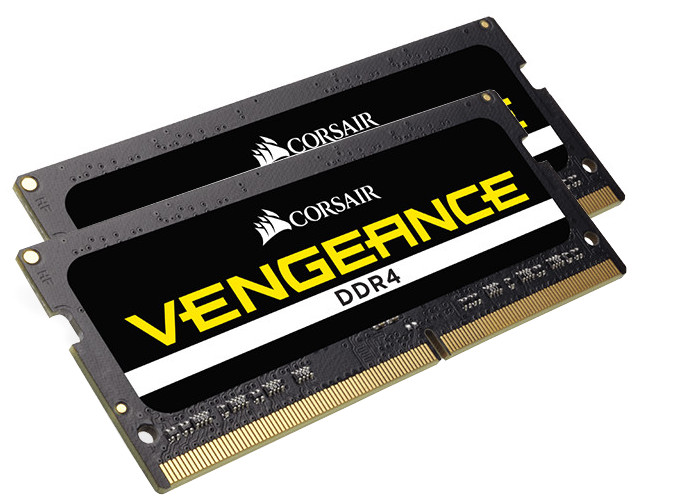 Модуль памяти Corsair DDR4 SO-DIMM 2400MHz PC4-19200 - 16Gb KIT (2x8Gb) CMSX16GX4M2A2400C16