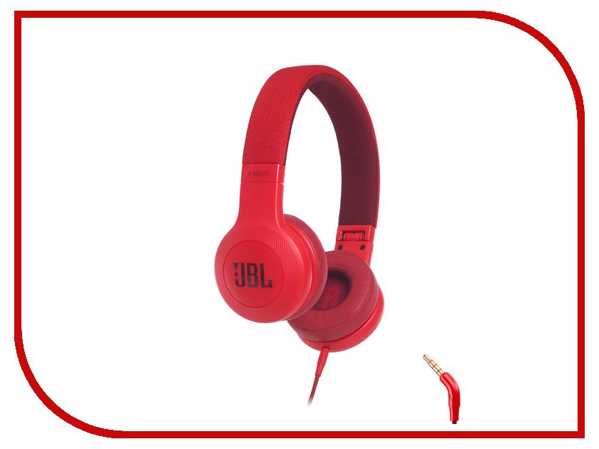 JBL E35 Red JBLE35RED наушники с микрофоном jbl e35 red