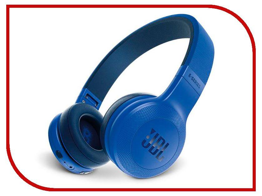 Гарнитура JBL E45BT Blue JBLE45BTBLU гарнитура jbl grip 200 blue