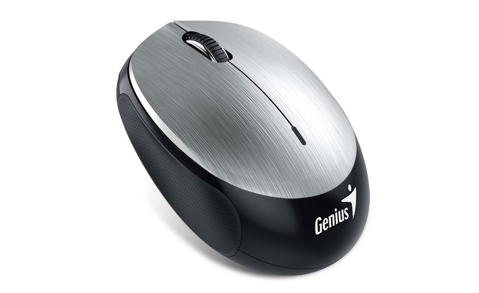 где купить Мышь Genius NX-9000BT V2 Silver дешево