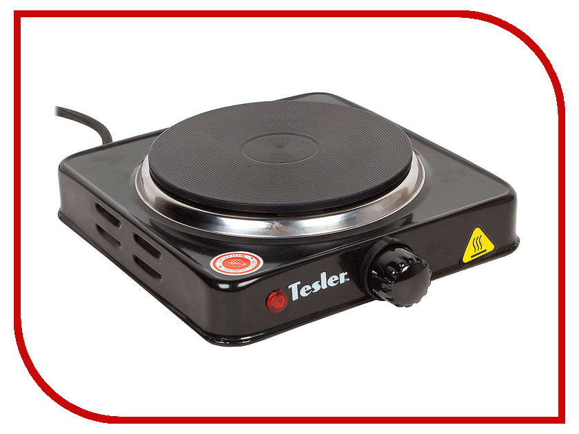 Плита Tesler PE-13 Black электрическая плитка tesler pe 10 white pe 10 white