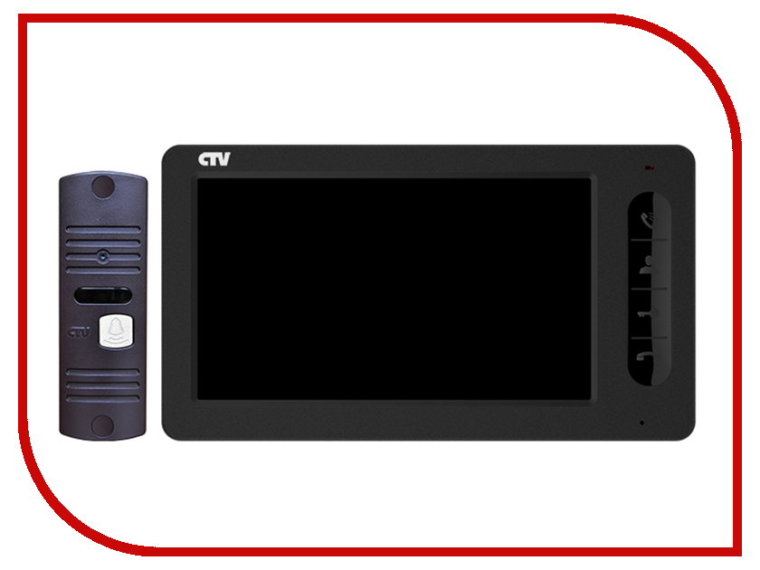 Комплект CTV CTV-DP700 B Black