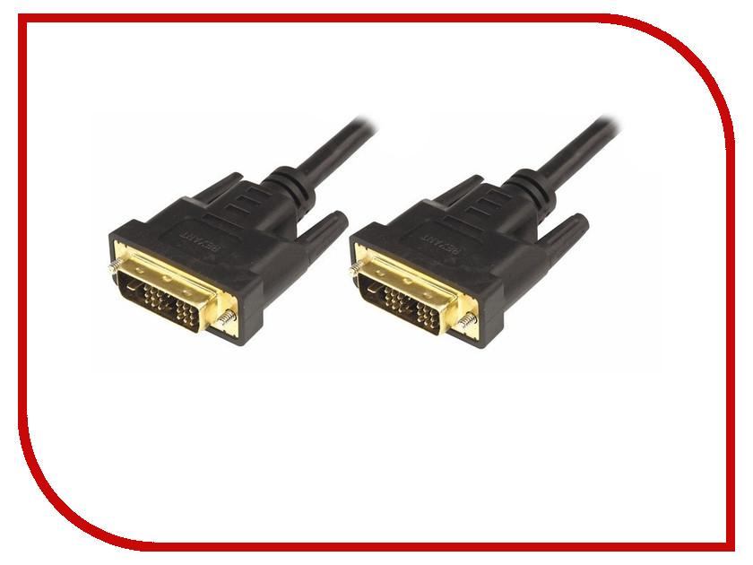 Аксессуар Rexant DVI-D - DVI-D 7m Gold 17-6407