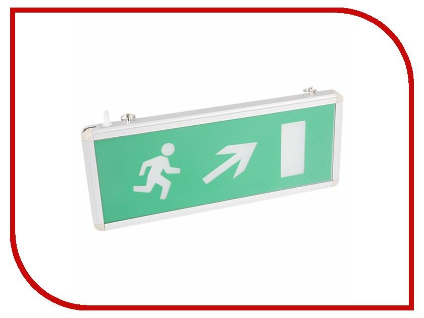 Rexant Направление к эвакуационному выходу направо вверх 74-0140