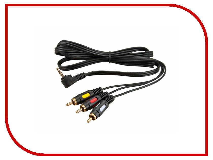 Аксессуар Rexant 3.5mm 4C Plug - 3RCA Plug 1.5m 17-4412