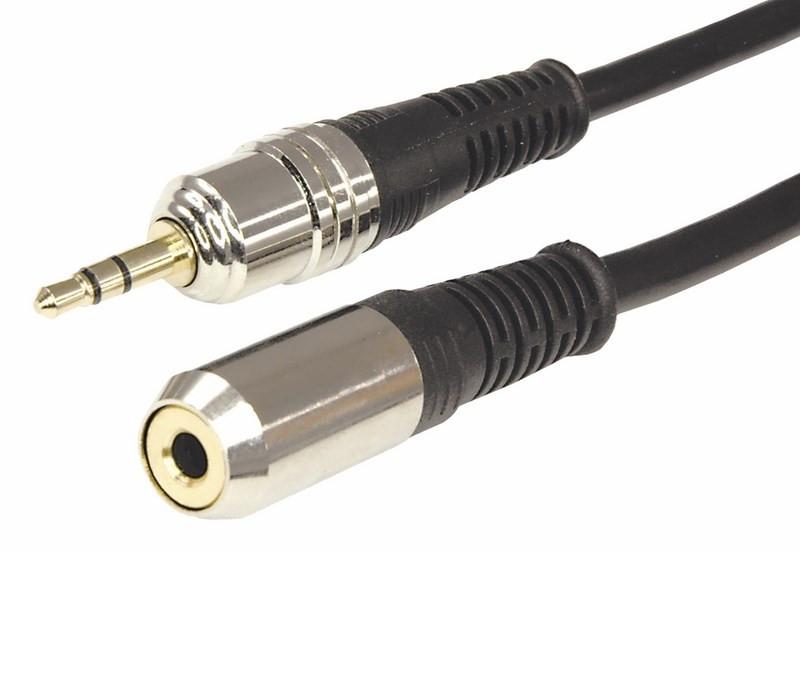 цена на Аксессуар Rexant 3.5mm Stereo Plug - 3.5mm Stereo Jack 1.5m 17-4023