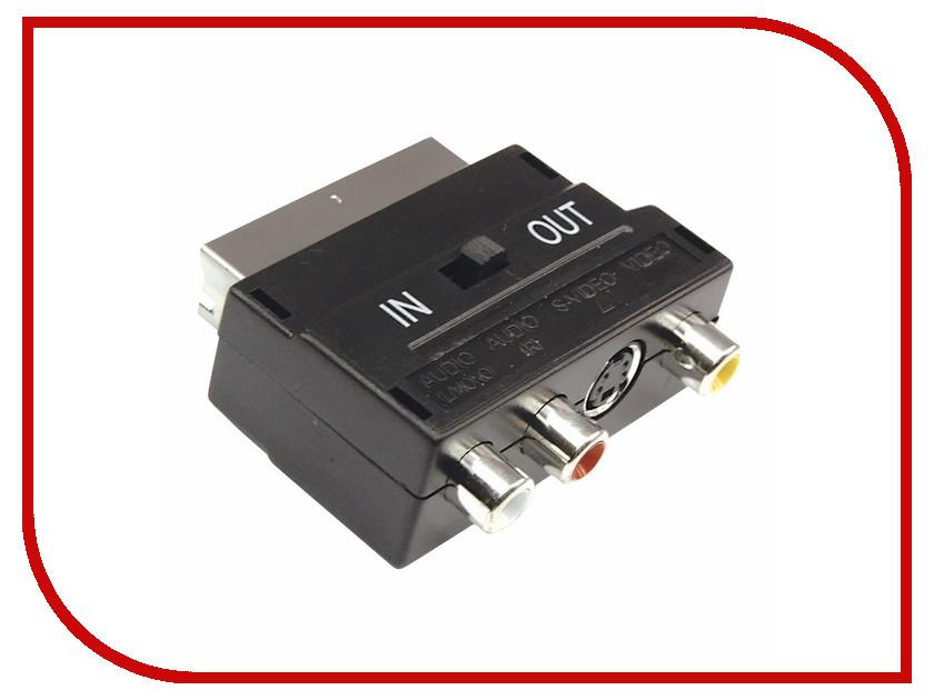 Аксессуар Rexant SCART - 3RCA + SVHS 17-1051 аксессуар rexant 34 0586