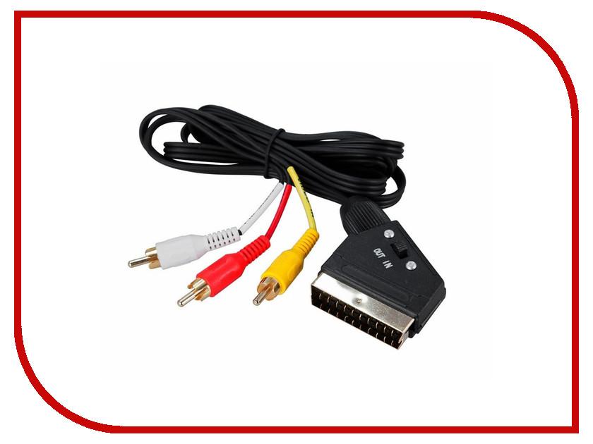 Аксессуар Rexant SCART Plug - 3RCA Plug 1.5m 17-1322-3