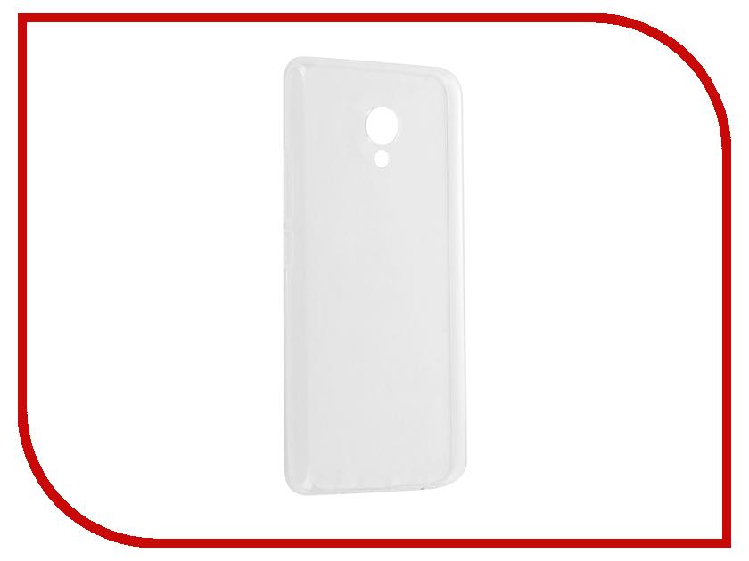 Аксессуар Чехол Meizu M5 BoraSCO Silicone аксессуар защитное стекло meizu u10 borasco 0 2mm