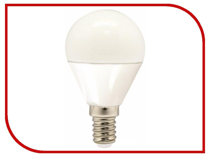 Лампочка LAMPER Standard G45 E14 5W 4000K 435Lm 220V 601-653 лампочка ecola globe led e14 7w g45 220v 4000k k4lv70elc