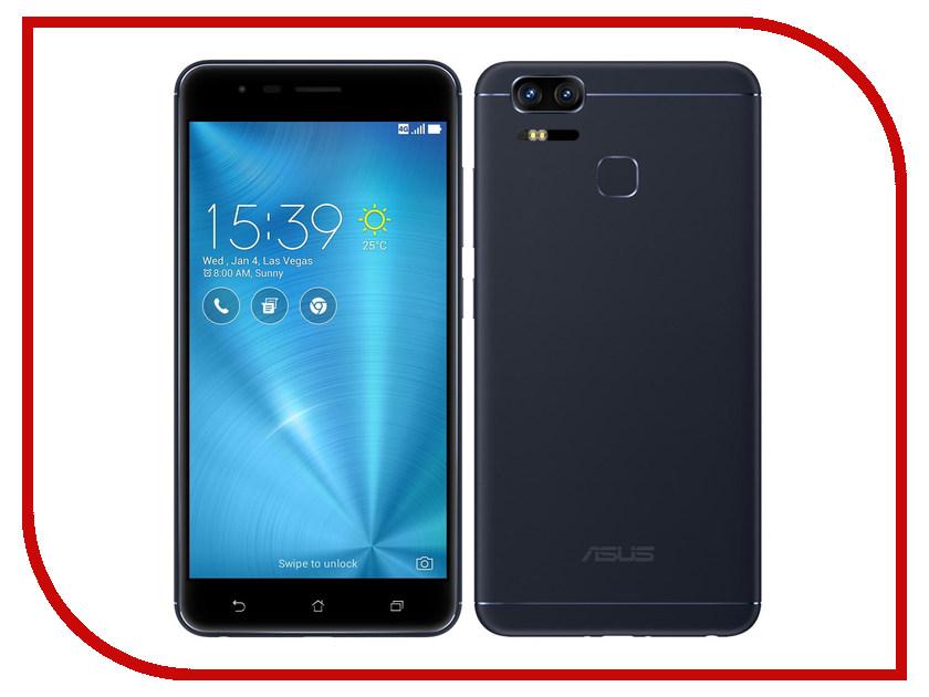 Сотовый телефон ASUS ZenFone 3 Zoom ZE553KL 64Gb Black asus zenwatch 3 wi503q silicon