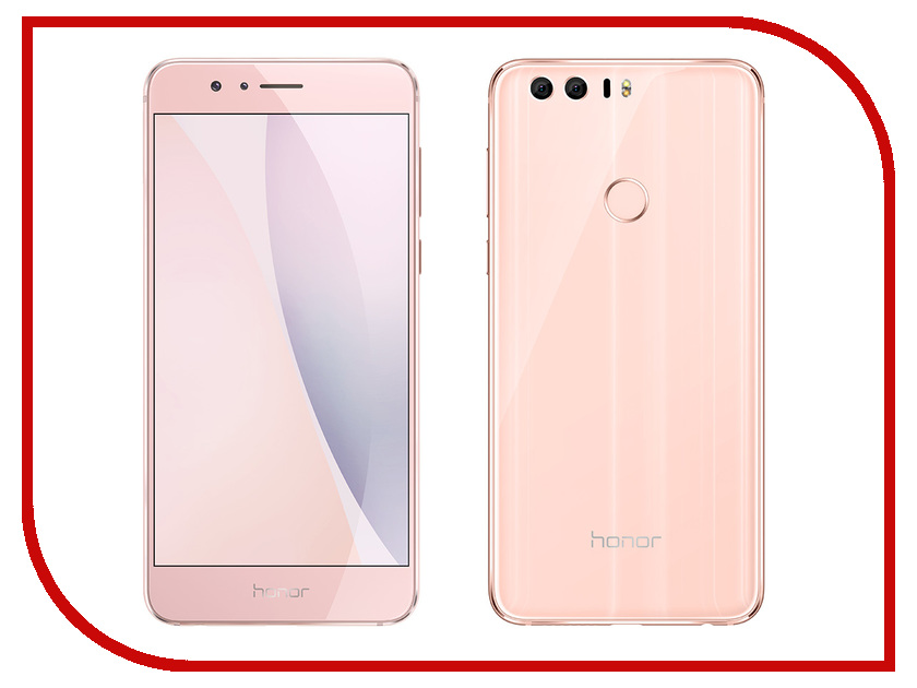 Сотовый телефон Huawei Honor 8 4Gb RAM 64Gb FRD-L19 Pink сотовый телефон huawei honor 8 4gb ram 32gb frd l09 white