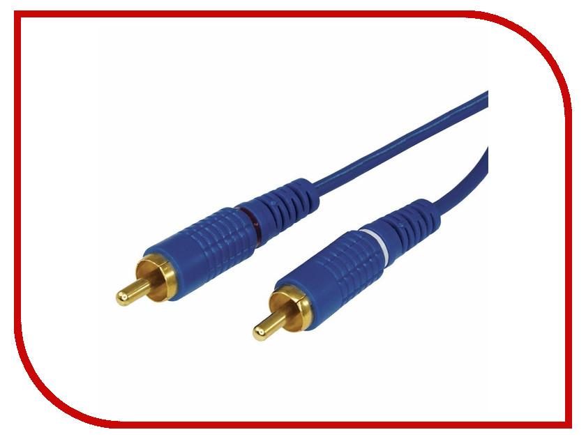 Аксессуар Rexant 2RCA - 2RCA 1.5m Blue 17-0103-1