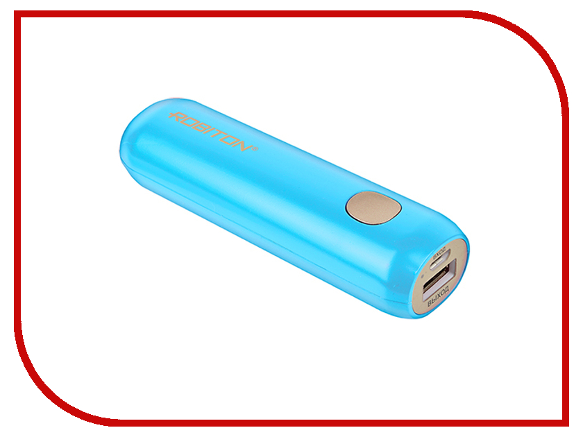 Аккумулятор Robiton Power Bank Li3.4 3350mAh Iris BL1 14264