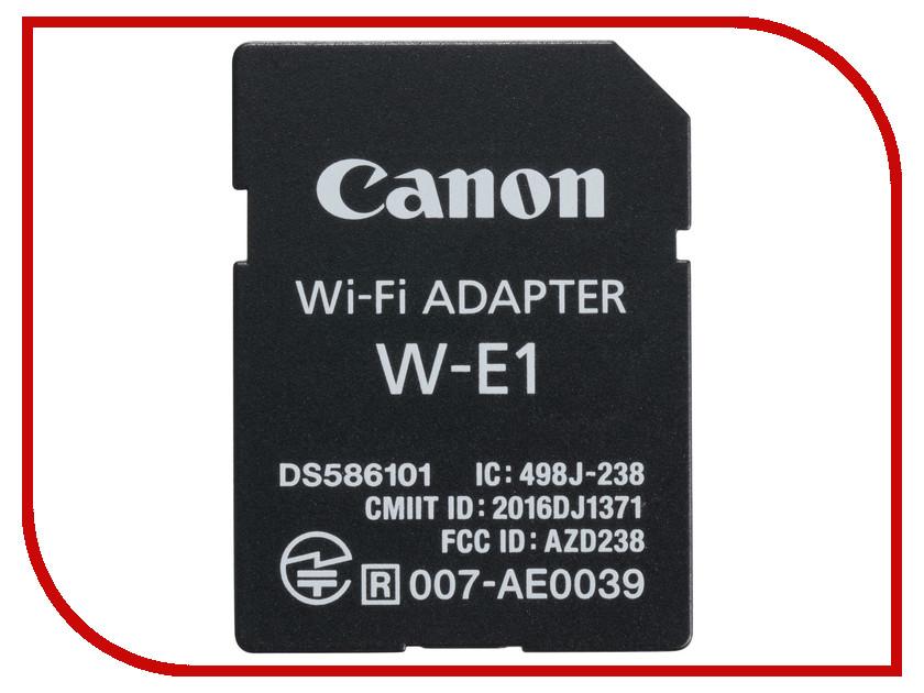 Карта памяти Адаптер Canon W-E1 Wi-Fi 1716C001 betwix адаптер м42 canon eos w inner ring воронеж