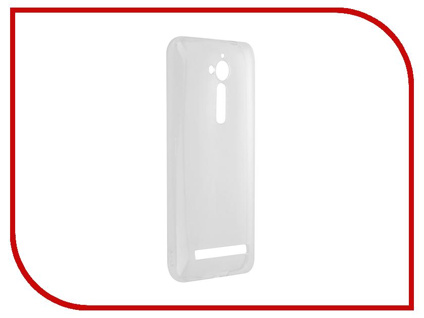 Аксессуар Чехол для ASUS ZenFone Go ZB500KG SkinBox Slim Silicone 4People Transparent T-S-AZB500KG-005