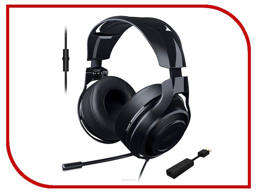 Гарнитура Razer ManOWar 7.1 Black RZ04-01920200-R3G1