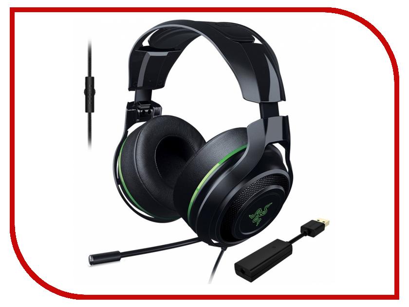 Гарнитура Razer ManOWar 7.1 Green RZ04-01920300-R3M1<br>