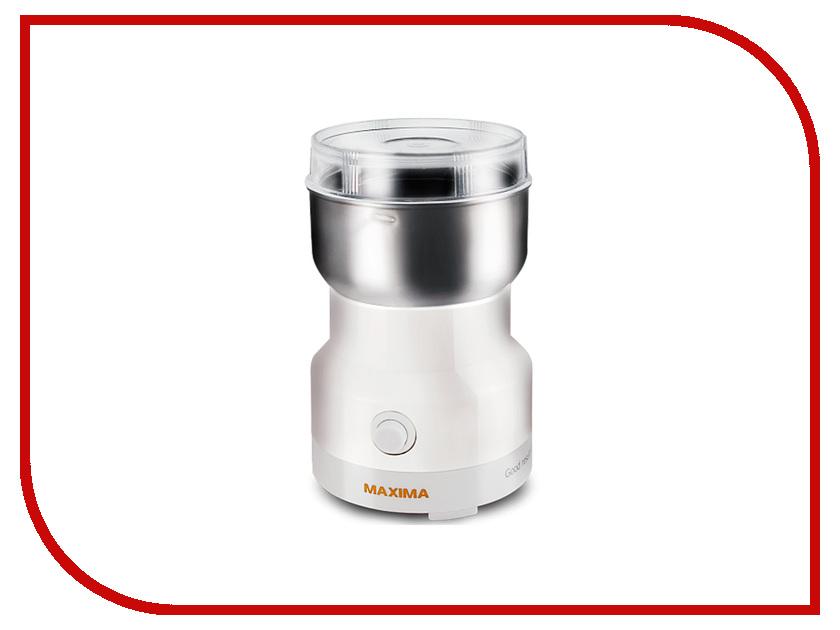 Кофемолка Maxima MCG-1602 White