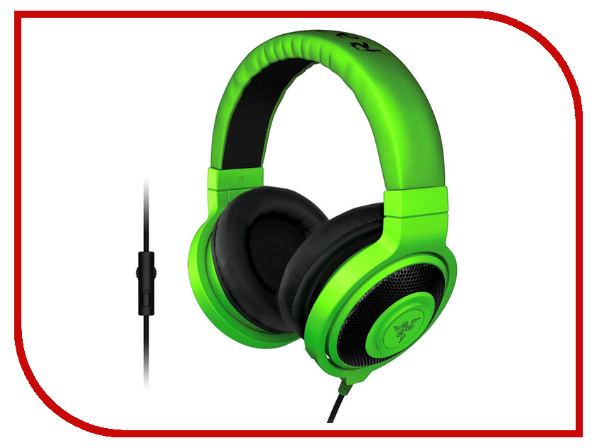 Гарнитура Razer Kraken Pro 2015 Green RZ04-01380200-R3M1 сотовый телефон doogee x5 max white
