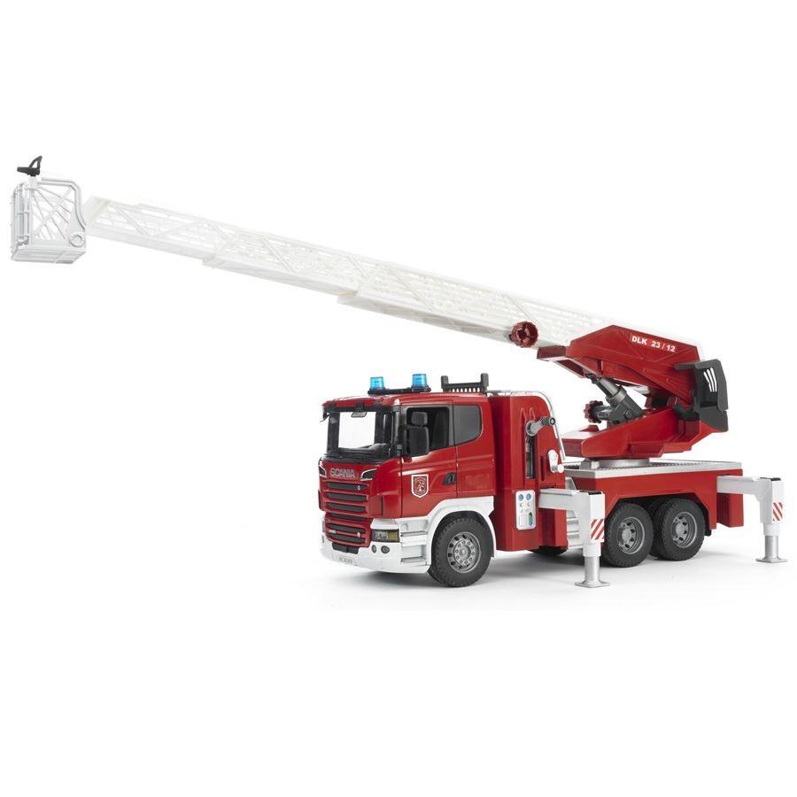 Игрушка Bruder Пожарная машина Scania 03-590