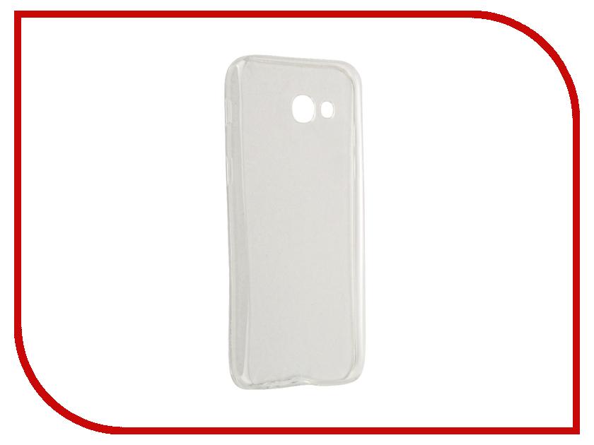 Аксессуар Чехол для Samsung Galaxy A5 (2017) SkinBox Slim Silicone Transparent T-S-SGA52017-005 аксессуар чехол для samsung galaxy a5 2017 innovation silicone yellow 10644