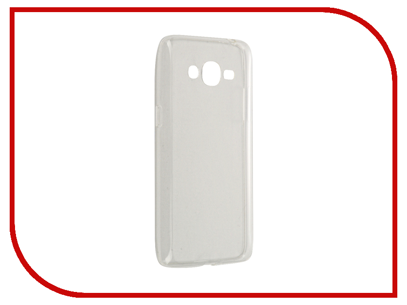 Аксессуар Чехол Samsung Galaxy J2 Prime SkinBox Slim Silicone Transparent T-S-SGJ2P-006 аксессуар чехол samsung galaxy j5 prime g570 celly air case black air640bk