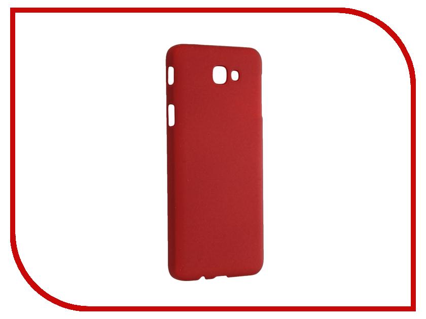 Аксессуар Чехол Samsung Galaxy J5 Prime SkinBox 4People Red T-S-SGJ5P-002