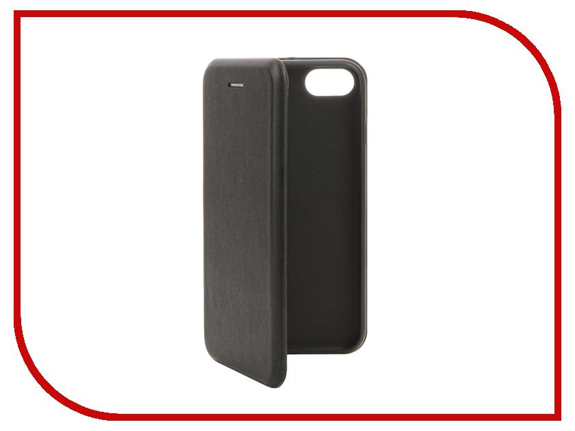 Аксессуар Чехол SkinBox Screens для iPhone 7 Black T-S-AI7-012