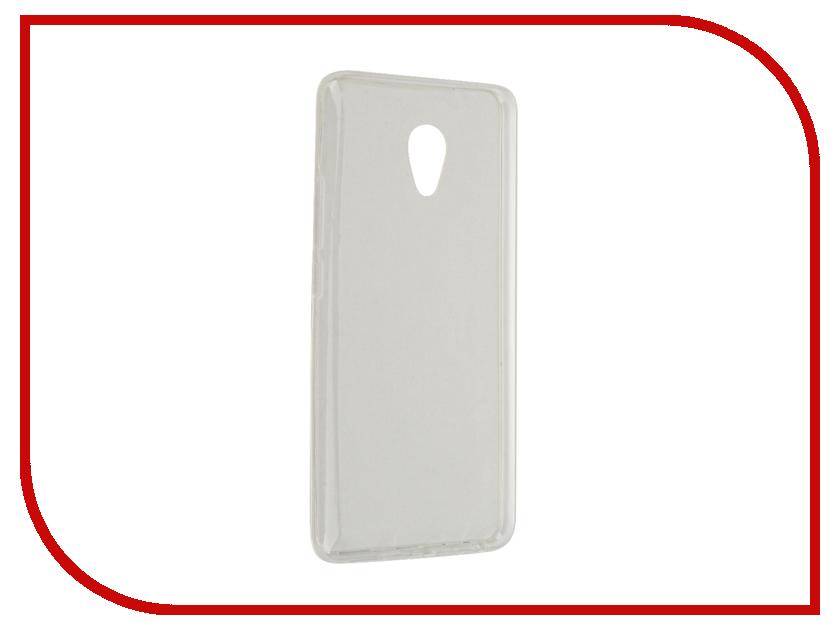 Аксессуар Чехол Meizu M3E SkinBox Slim Silicone 4People Transparent T-S-MM3E-006