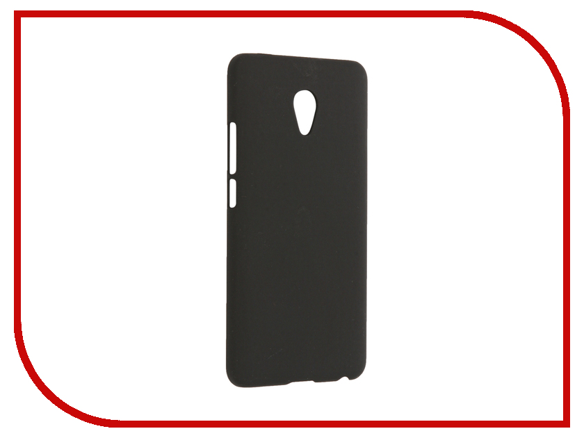 Аксессуар Чехол Meizu M3E SkinBox Shield 4People Black T-S-MM3E-002 аксессуар защитное стекло meizu u10 solomon full cover black