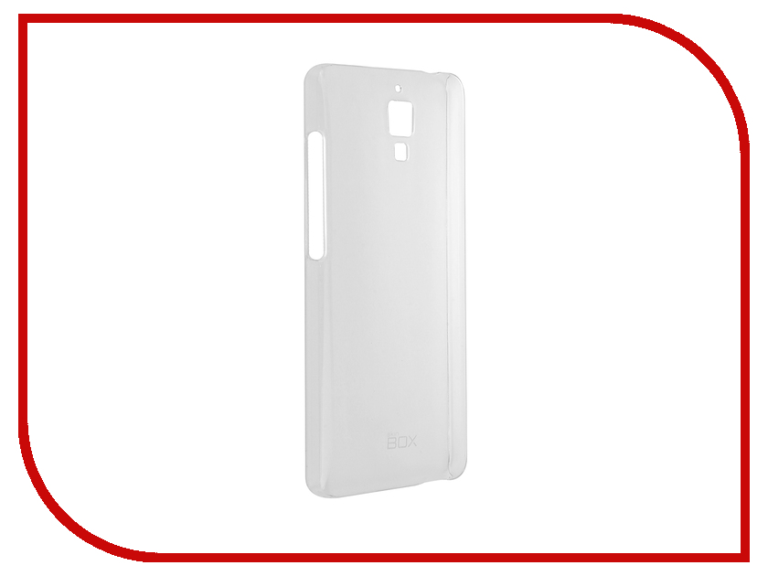 Аксессуар Чехол Xiaomi Mi4 SkinBox Crystal 4People Transparent T-S-XMi4-007