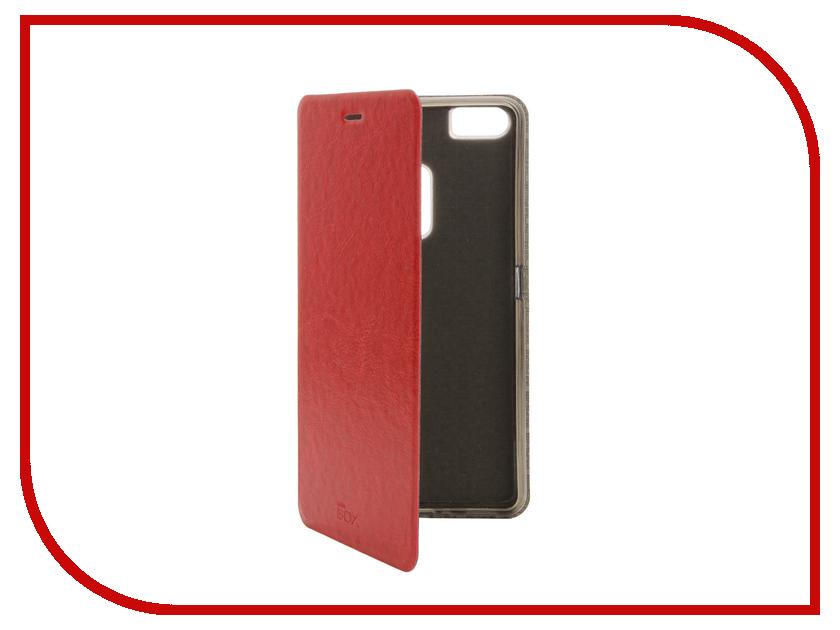 купить Аксессуар Чехол ASUS ZenFone 3 ZU680KL SkinBox Lux Red T-S-AZU680KL-003 недорого